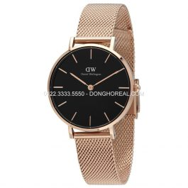 Daniel Wellington Classic Petite Melrose Black DW00100161 - Rose Gold