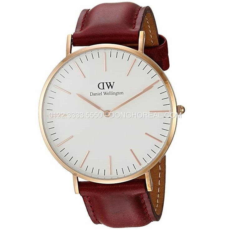 Daniel Wellington Classic Suffolk 36mm DW00100122 – Rosegold – Nữ