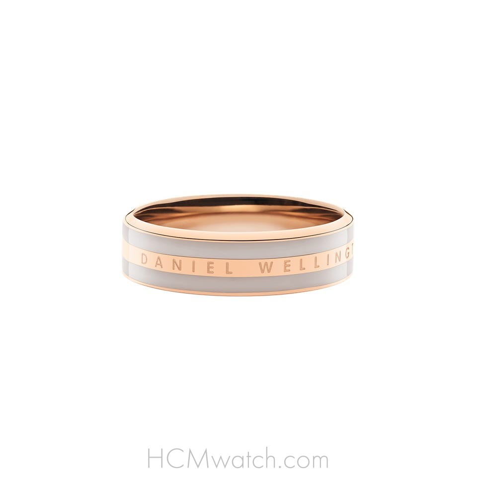 Nhẫn DW Ring Satin Desert Sand - Rose Gold